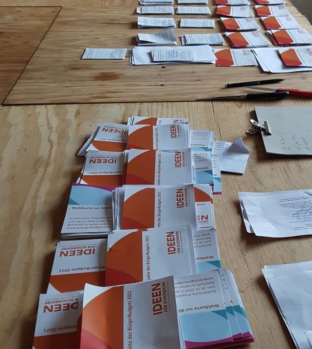 Wahlkarten BB 2021